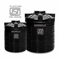 Double White ISI Water Tanks, Storage Capacity: 300-5000 Liters, for Water Storage