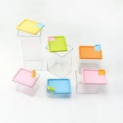 Food Storage Box Container Set of 6 (IT N - 760-3)