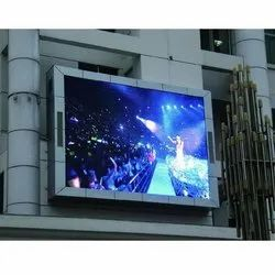P10 Outdoor LED Display / High Brightness Waterproof Advertisement LED Screen