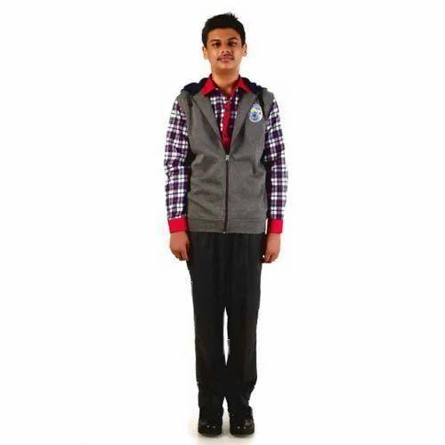 05d3034f7 Grey Hosiery Kendriya Vidyalaya New Uniform Winter Wear