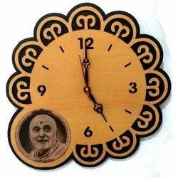 Customize Wooden Wall Clock