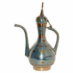 Brass Surai With Peacock Design