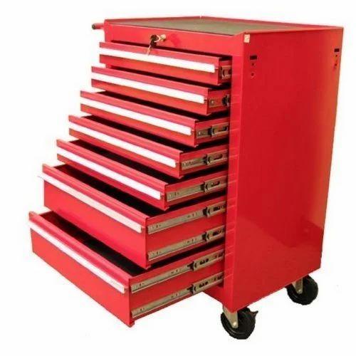 Mild Steel Industrial Tool Trolley