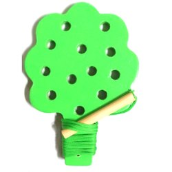 Lacing Tree Toy