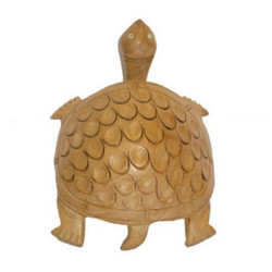 Decoration Wooden Tortoise