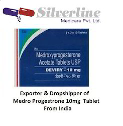 Medroxy Progestrone 10mg Tablet
