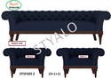Solid Wood Frame 5 Seater Sofa Set (3 1) With Free Delivery &amp Installation., Warranty: 5 Year