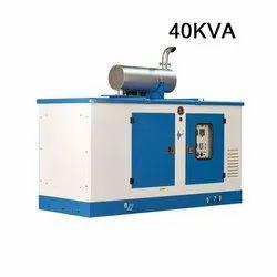 Silent or Soundproof 40KVA Ashok Leyland Diesel Generator, 415 V