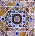Marble  Inlay Work White Stone Pietra Dura Art