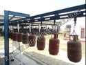 Cylinder Testing Overhead Conveyor
