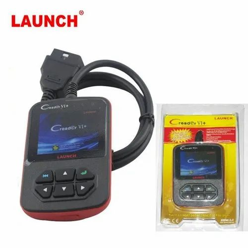 Vehicle Code Reader >> Launch Creader Vi Plus Vehicle Code Reader