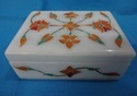 Marble Inlay Decorative Box