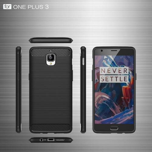 promo code 9d112 72f02 Rugged Armor Carbon Fiber Back Cover Oneplus 3t