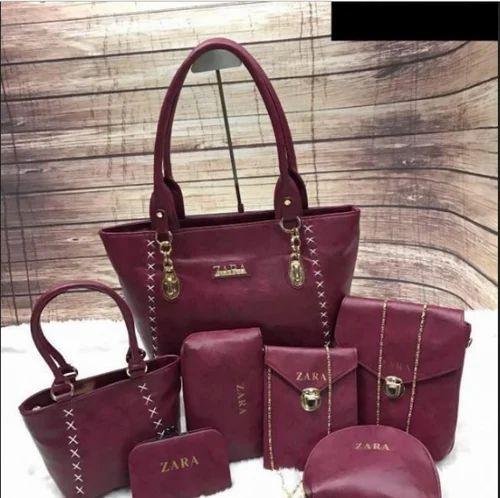 8da2477b284 Brown And Peech Pink Zara Handbags, Rs 1770 /piece, S2S Shopping ...