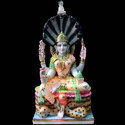 Marble Colorful Laxmi Statue