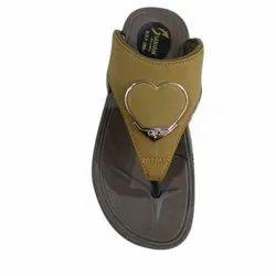 Plain Ladies Casual Wear Lycra Slipper