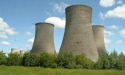 RCC Three Phase Cooling Tower, Induced Draft Type And Natural Draft Type