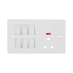 White Anchor Electrical Switches