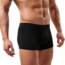 Mens Black Trunk Underwear