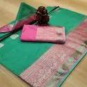 Cotton Silk Saree Ith Big Border