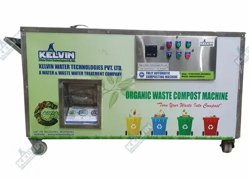750 KG/DAY Organic Waste Converter/Composter
