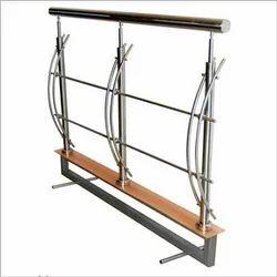 Bar Silver Stainless Steel Railings 310