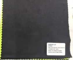 90% Polyester 10% Spandex Mirror Knit Fabrics 150 GSM