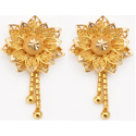 Ladies Designer Gold Earing