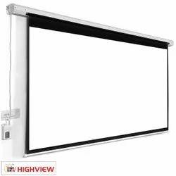 Highview 108 Inch Motorized Projector Screen