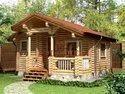 Wood Luxury Glulam Log House