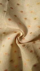 Cotton Grey/Kora Dobby Fabric
