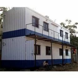 Double Storey Mild Steel Portable Cabin