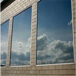 Rectangular Plain Reflective Glass