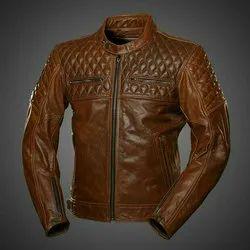 Plain Leather Jacket, Size: XL & XXL