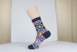 Ladies Merino Wool Printed Socks