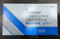 5 mg Buspirone Hydrochloride Tablets IP