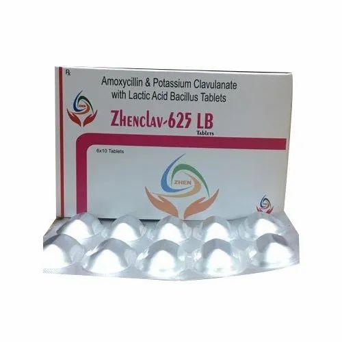 Amoxicillin & Potassium Clavulanate With Lactic Acid Bacillus Tablets