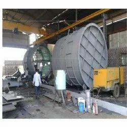Mild Steel Boiler Industrial Tank Fabrication Service, In Pune