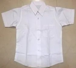 Summer Cotton Boys School shirt, Size: small medium large, Packaging Type: Poly Pack