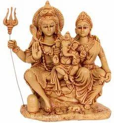Resin Choki Shiv Family