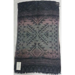 Cotton/ Mohair Printed Shawl