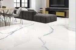 High Quality Marble Finish Print GVT Glazed Tiles, Size: Medium, Thickness: 8 - 10 mm