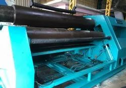 Plate Rolling Machine Double Prepinching Type Fully Hydraulic