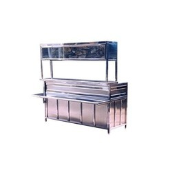 Stainless Steel Storage Counter