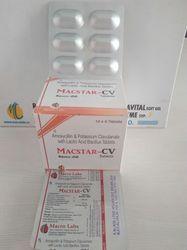 Macstar Cv Amoxicillin 500, clavulanic Acid 125 , 1x6 Tab ALU
