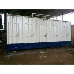 Mild Steel Portable Toilet