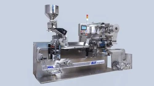 Double Track Tablet Alu Alu Blister Packing Machine