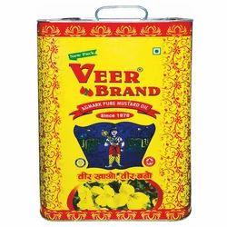 15L Veer Brand Mustard Oil