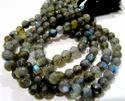 Faceted Labradorite Gemstone Beads
