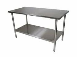 Rectangular SS Work Table